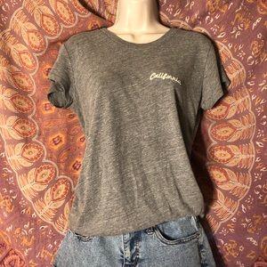 gray california brandy melville t-shirt
